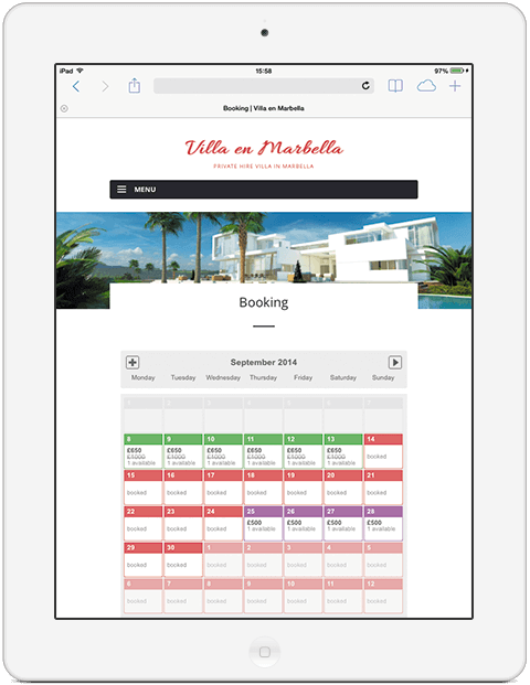 Marbella-Booking-iPad
